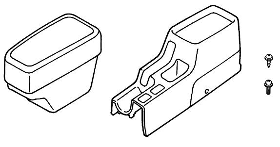 Подлокотник передний