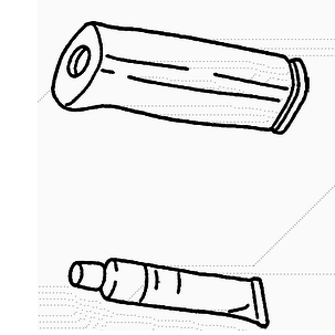 Рукоятка рычага ручного тормоза